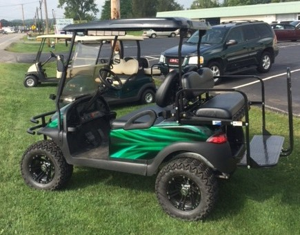 2010 Club Car Precedent Electric Lifted For Sale Lesch