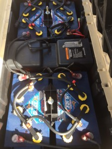 New 12v Batteries with Easy Fill Battery Watering Kit